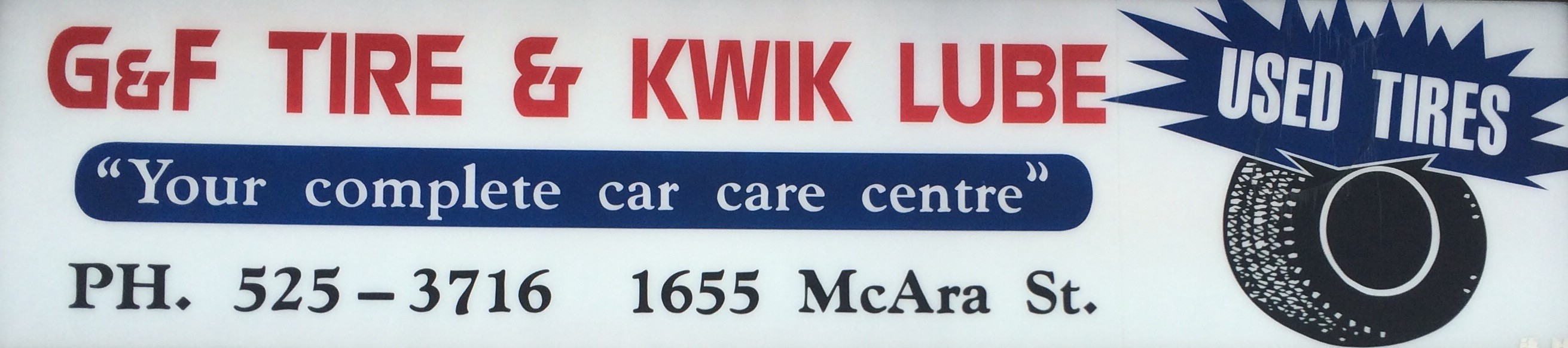 G & F  Tire & Kwik Lube
